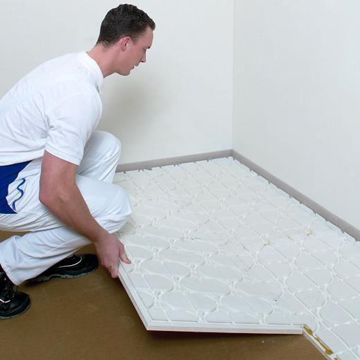 bellboard maakt vloerverwarming leggen eenvoudig