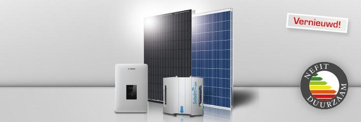 zonnestroomsystemen van nefit met 30 jaar garantie